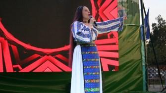 Maria Dragomiroiu la Ziua comunei Mircea Vodă. FOTO Ctnews.ro