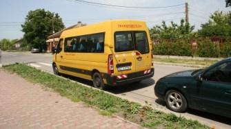 Microbuzul școlar din orașul Negru Vodă. FOTO Ctnews.ro