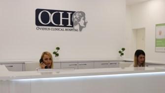 Ovidius Clinical Hospital din Constanța. FOTO Adrian Boioglu
