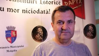 Valentin Vrabie, primarul municipiului Medgidia. FOTO Adrian Boioglu