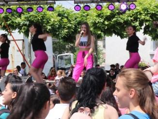 Iuliana Beregoi, în concert la Cernavodă. FOTO Adrian Boioglu