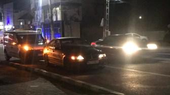 O persoană a fost rănită în urma accidentului. FOTO Cristina NIȚĂ