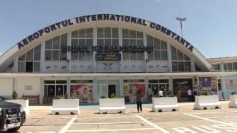 Aeroportul Internațional Constanța din Mihail Kogălniceanu. FOTO Arhivă