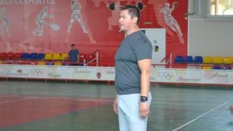 Eduard Simineanu, antrenor la Clubul Sportiv Ovidiu. FOTO Ctnews.ro
