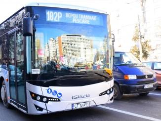 Autobuz RATC Constanța. FOTO RATC