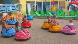 Bumper Cars la Eforie Aqua Park