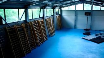 Sala de sport din comuna Saraiu. FOTO Ctnews.ro