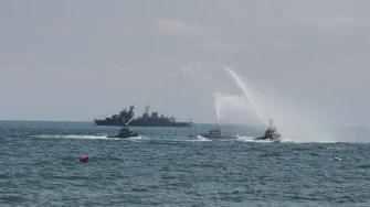 Militarii au executat o serie de exerciții. FOTO Cătălin SCHIPOR