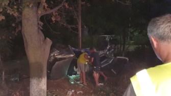 O persoană a decedat, iar alte patru au fost rănite în urma accidentului. FOTO IPJ Constanța