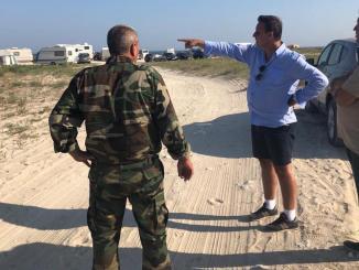 Guvernatorul ARBDD a inspectat plaja Vadu. FOTO ARBDD