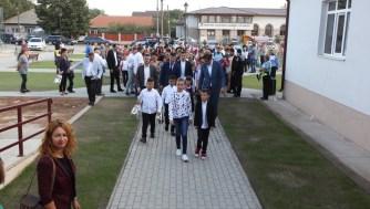 Inaugurarea școlii din Poiana. FOTO P.O.