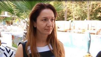 Emine Baldji - directorul de marketing de la Hotelul Prestige Deluxe Aqua Park Club din Nisipurile de Aur.