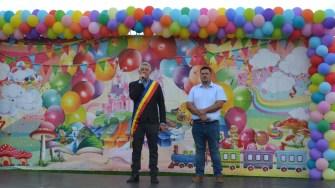 Primarul orașului Negru Vodă, Petre Urziceanu, la inaugurare celor patru parcuri. FOTO Ctnews.ro