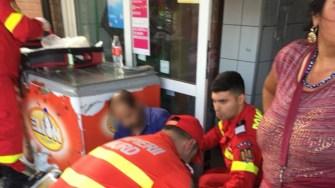 Persoanele rănite au primit primul ajutor de la echipajele SMURD. FOTO Facebook