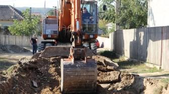Primăria Aliman asfaltează comuna. FOTO CTnews.ro