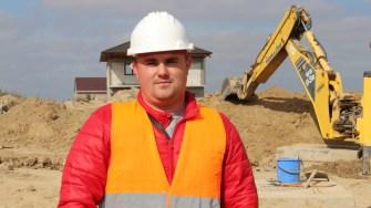 Claudiu Chivu, șeful proiectului rețelei de canalizare. FOTO CTnews.ro