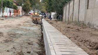 Primăria Cernavodă modernizează mai multe străzi din oraș. FOTO Adrian Boioglu
