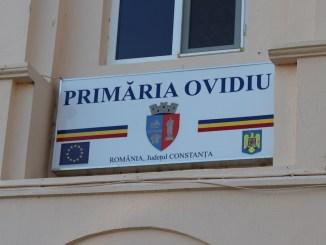 Primăria orașului Ovidiu. FOTO Adrian Boioglu