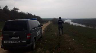 Polițiștii de frontieră i-au căutat pe suspecți. FOTO Poliția de Frontieră