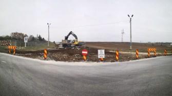 Traficul rutier în Medgidia se va îmbunătății în urma asfaltării mai multor drumuri. FOTO Primăria Medgidia