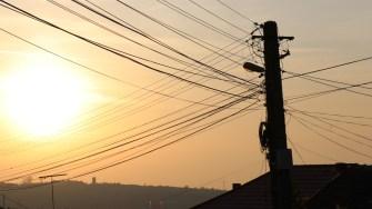 Iluminat public în Cernavodă. FOTO CTnews.ro