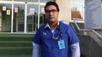 Medicul Hanna Mohammad Babar de la Spitalul Orășenesc Cernavodă. FOTO CTnews.ro