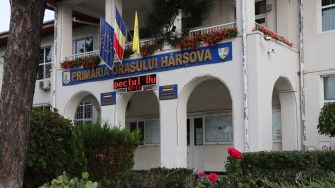 Primăria Hârșova. FOTO Adrian Boioglu