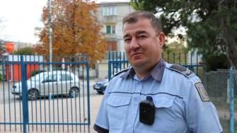 Ion Ilie, agent superior Poliția Locală Hârșova. FOTO CTnews.ro