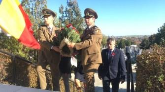 Comemorarea eroilor străini căzuți în Dobrogea, la Medgidia. FOTO CTnews.ro