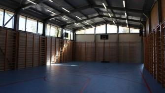 Sala de sport din comuna Saraiu. FOTO Adrian Boioglu
