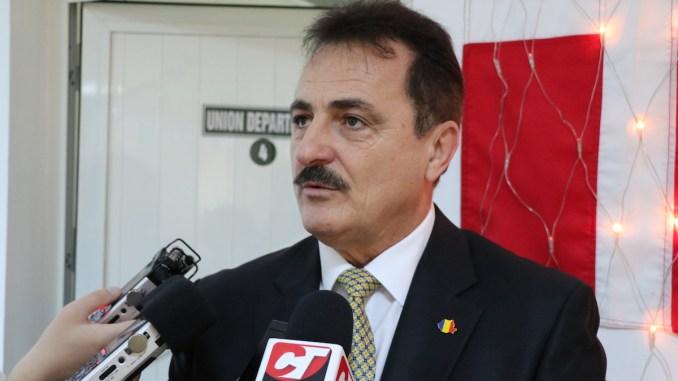 Adrian Mihalcioiu, președintele Sindicatului Liber al Navigaorilor (SLN). FOTO Adrian Boioglu