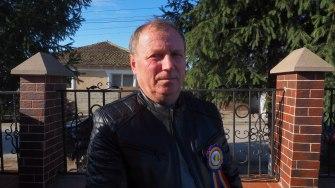 Primarul comunei Fântânele, Gheorghe Popescu. FOTO Cătălin Schipor