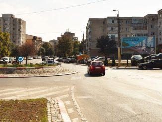Panou stradal în Constanța. FOTO seaview