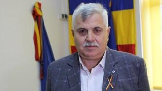 Primarul comunei Seimeni, Mitică Șerban. FOTO Adrian Boioglu
