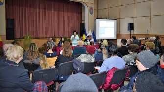 Locuitorii din Cumpăna au putut participa la dezbaterea privind bugetul comunei Cumpăna. FOTO Primăria Cumpăna