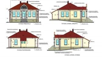 Proiectul clădirilor ce intră în reabilitare. FOTO Primăria Hârșova