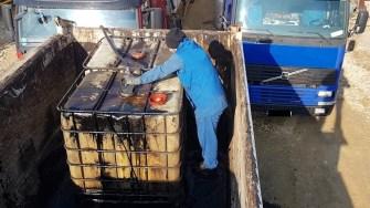 Hoți de combustibil, prinși de polițiștii constănțeni