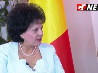 Mariana Gâju, primarul comunei Cumpăna. FOTO Adrian Boioglu
