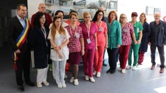 Ambulatoriul Spitalului Medgidia a fost reabilitat. FOTO Adrian Boioglu
