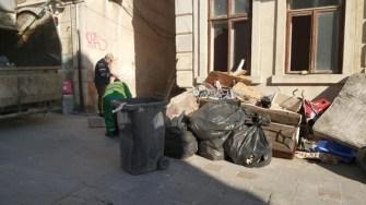 Angajații Polaris au igienizat zonele cu deșeuri. FOTO Polaris M Holding