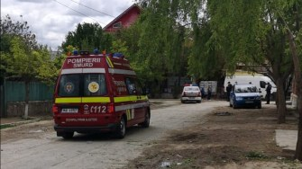 Un echipaj SMURD a intervenit la locul solicitării. FOTO CTnews.ro