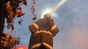 Pompierii militari constănțeni au avut, în cursul anului trecut, câte o intervenție la fiecare 30 de minute