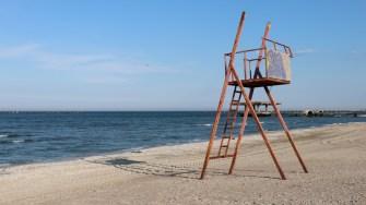 Plaja din Mamaia. FOTO Adrian Boioglu