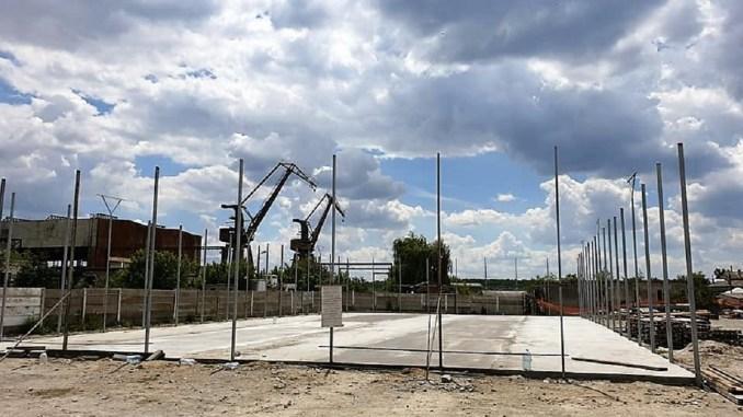 Teren de sport, dotat cu nocturnă, construit în Hârșova. FOTO Primăria Hârșova
