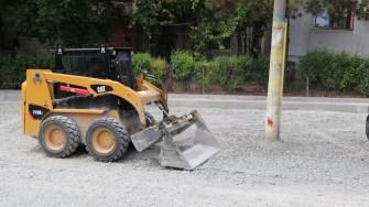 Lucrări la infrastructura din Cernavodă. FOTO Adrian Boioglu
