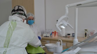 Cabinet stomatologic la Policlinica OCH. FOTO CTnews.ro