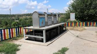 Platformă pentru deșeuri menajere în Cernavodă. FOTO Adrian Boioglu