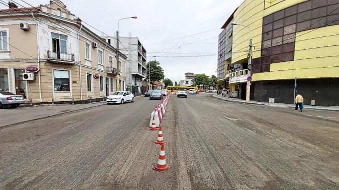 Traficul rutier va fi restricționat total pe un tronson al străzii I.G. Duca din Constanța. Foto Primăria Constanța