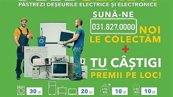 """Prima etapă a campaniei """"România Reciclează! Hârșova reciclează!"""", un real succes"""