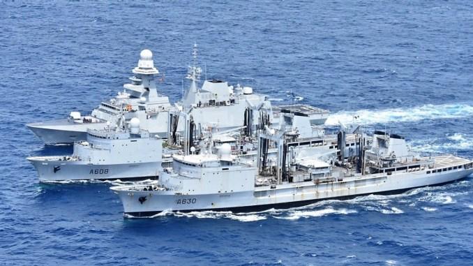 Cooperare româno-franceză în domeniul militar naval. FOTO SMFN